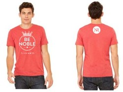 T-Shirt RED Be Noble