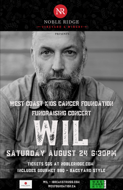 Westcoast Kids Cancer Foundation Fundraising Concert