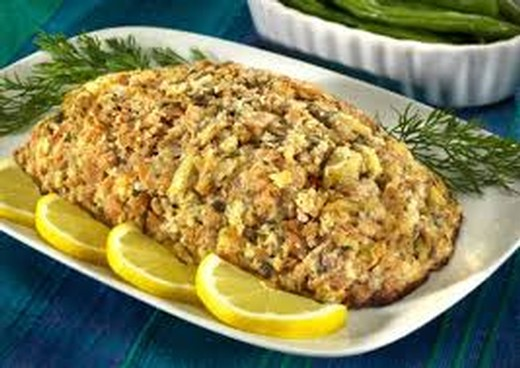 Wednesday Salmon Loaf